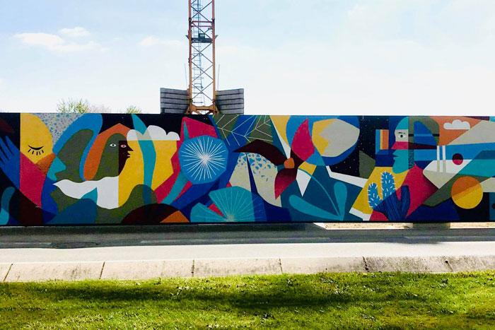 Fédération art urbain à Nantes
